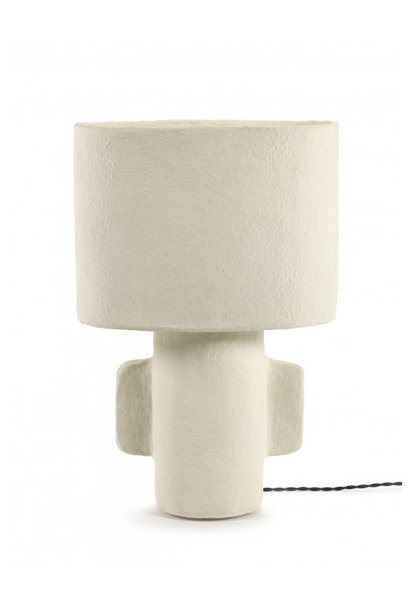 Table Lamp - White Earth