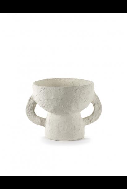 Vase S - White Earth