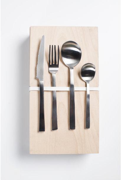 Giftbox - Maarten Baas - Stainless Steel 16 pcs