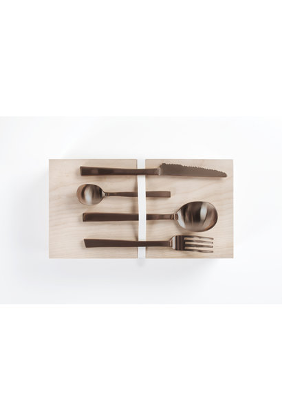 Giftbox - Maarten Baas - Copper Brushed 16 pcs
