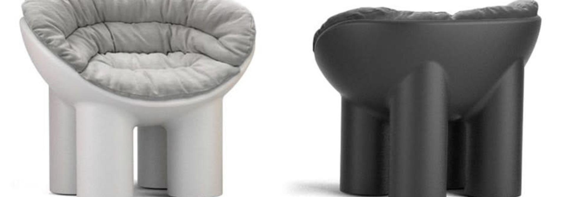 Roly Poly - Armchair - Cushion - Vanaf € 370,00