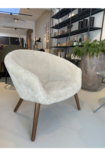 Ditzel Lounge Chair - Sheep Skin - Showroommodel