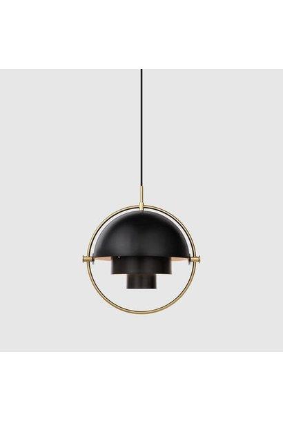 Multi Light Pendant Large - Black/Brass - Showroommodel