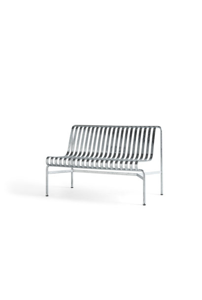 Palissade Dining Bench - Without Armrest - Hot Galvanised