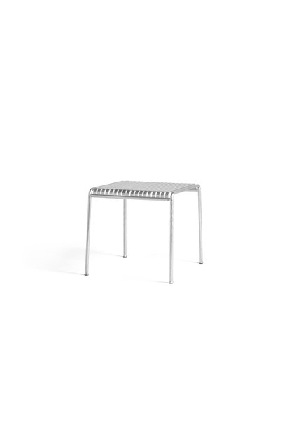 Palissade Table - Hot Galvanised - L82.5 X W90 X H75