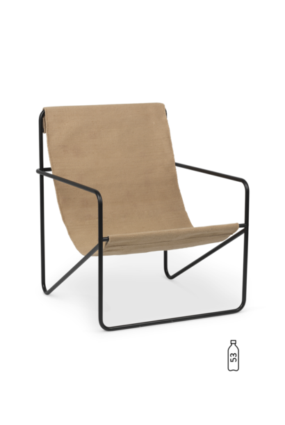 Desert Lounge Chair - Black Sand