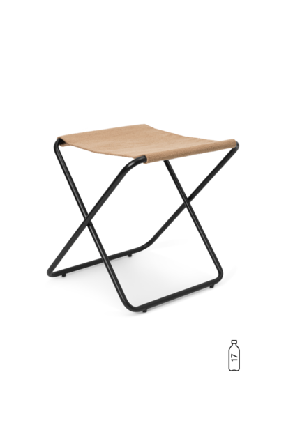 Desert Stool - Black Sand