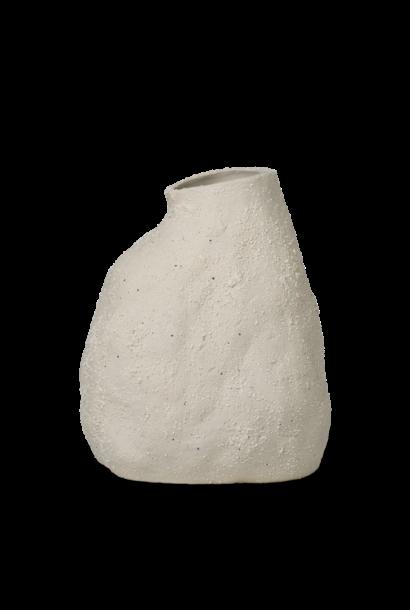 Vulca Vase - Medium - Off White