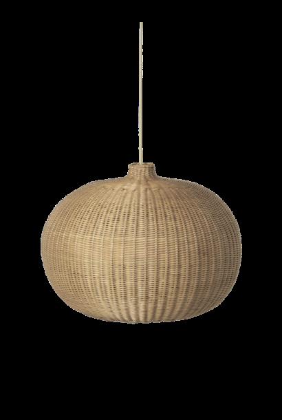 Braided Lamp - Belly Shade - Natural