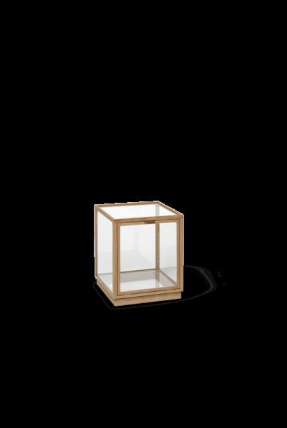 Miru Glass Montre - Natural Oak