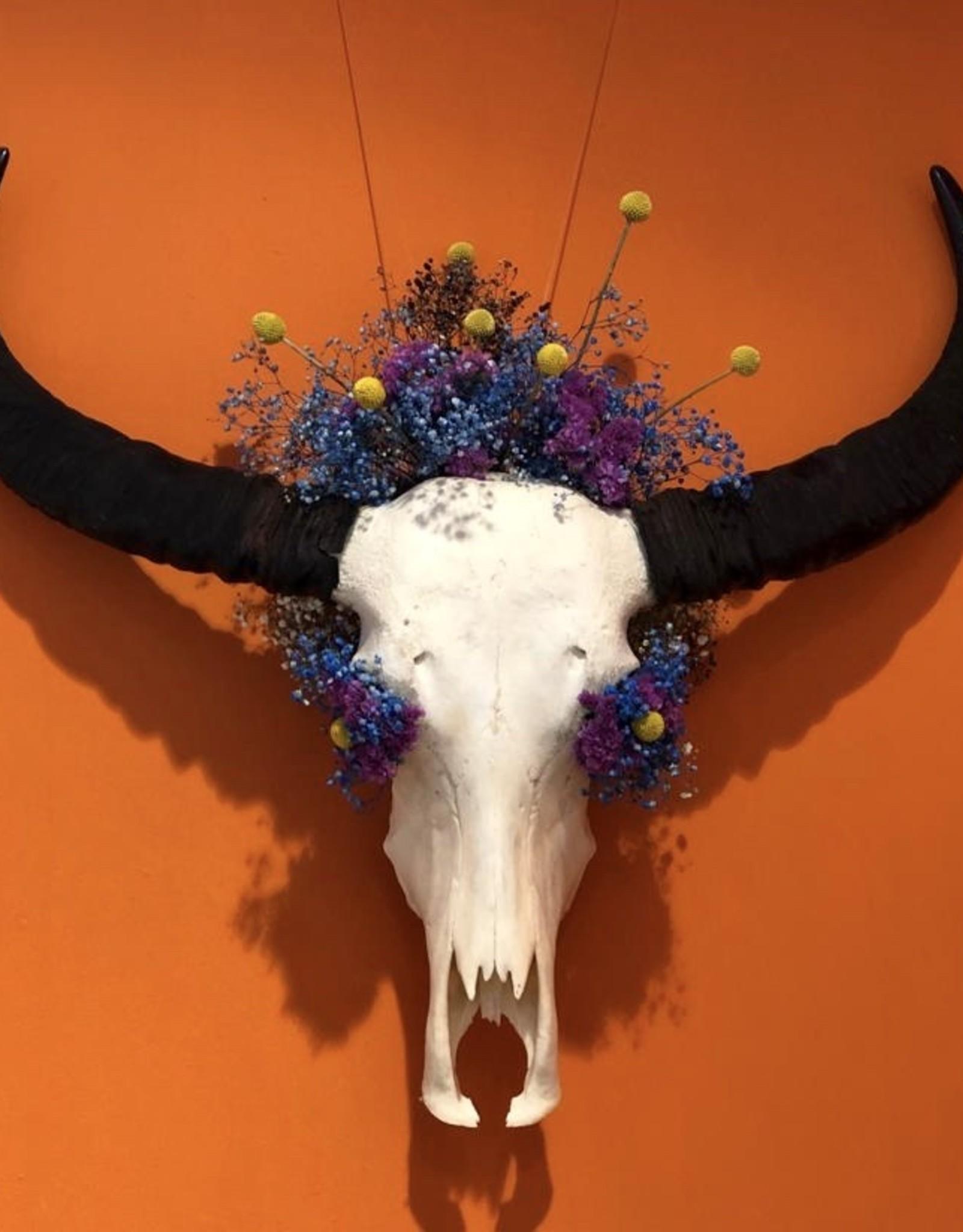 Flower Decorated Skull