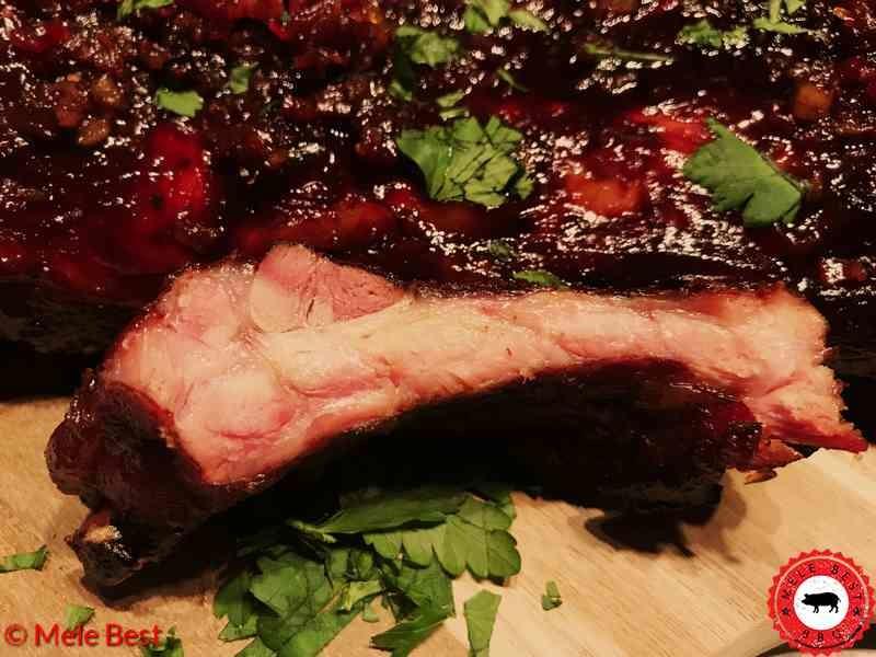 Chili bacon spareribs van Mele Best