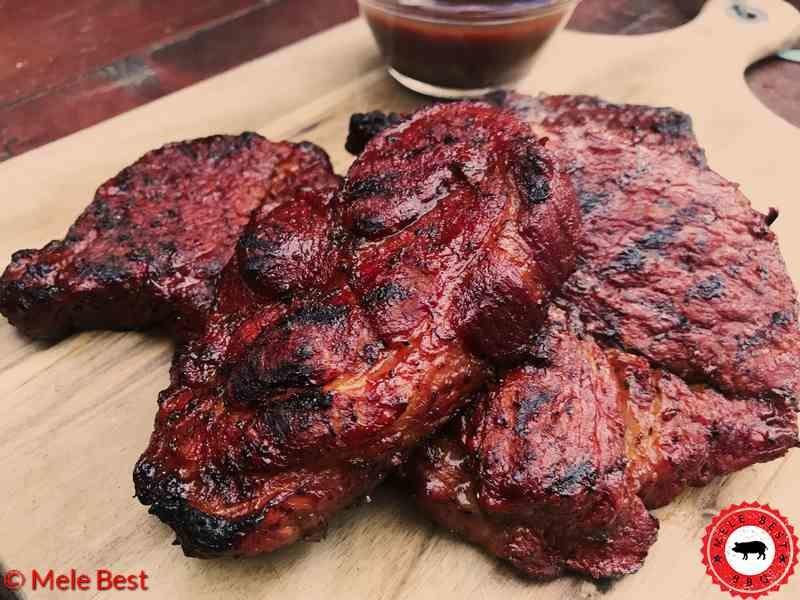 Lumberjack pork steak van Mele Best