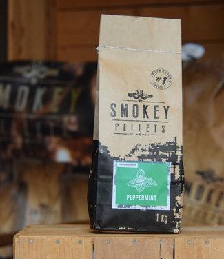 Smokey Peppermint pellets