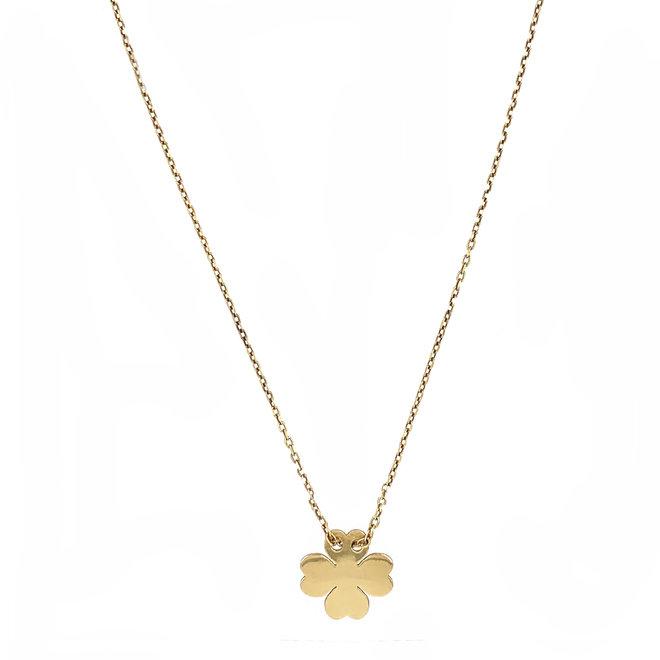 Lucky Clover Necklace Silver 925