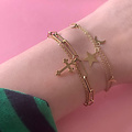 Christian Charm Stainless Steel Gold-Plated