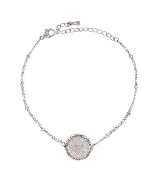 Rome Double Coin Bracelet