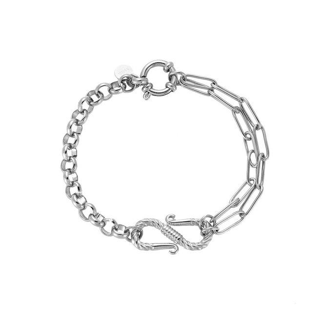 MonNblou Statement Bracelet Stainless Steel