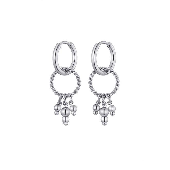 Nala Earrings Stainless Steel
