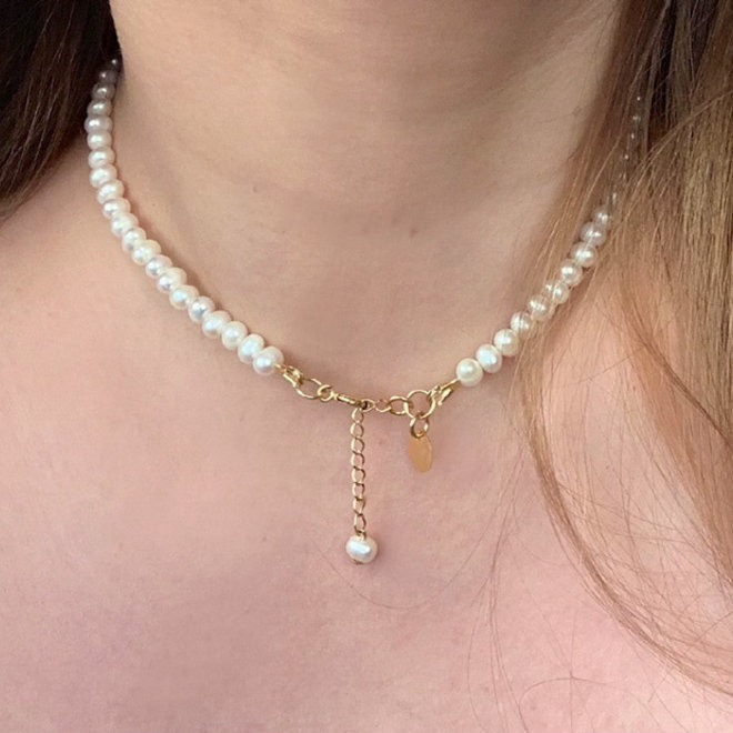 Pure Ketting Zoetwaterparels