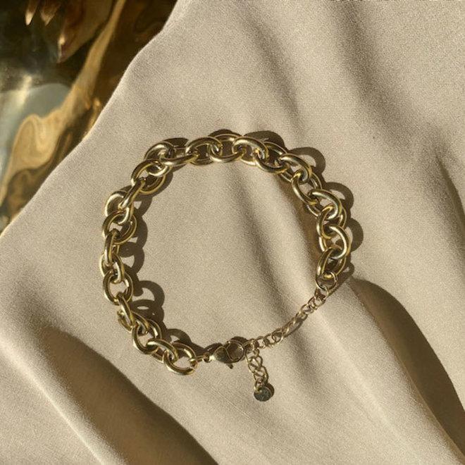 Argenta Bracelet Stainless Steel Gold-Plated