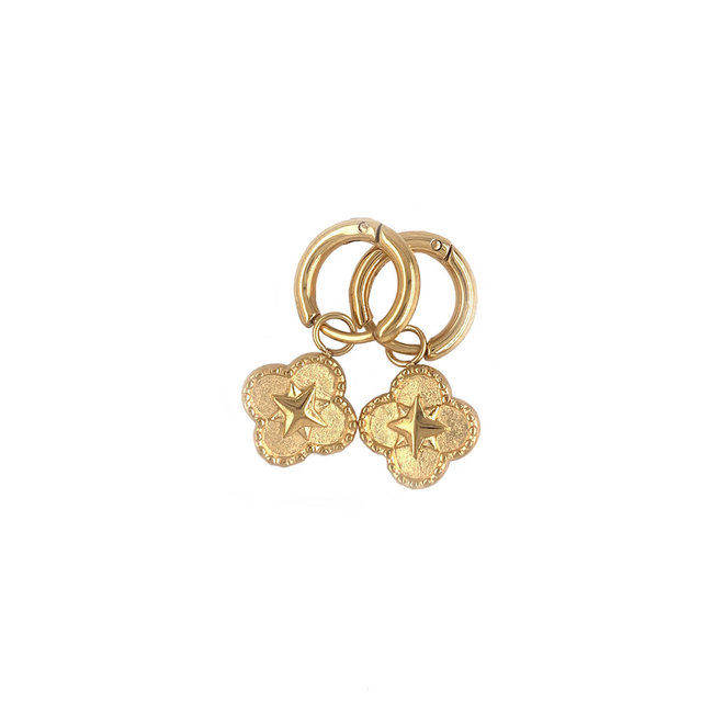 MonNblou Earrings Stainless Steel Gold-Plated