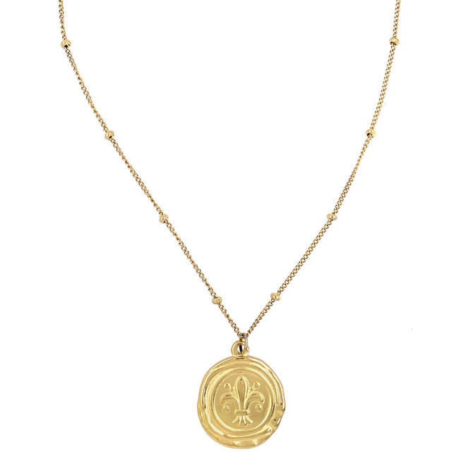 Aqua Life Stainless Steel Gold-Plated