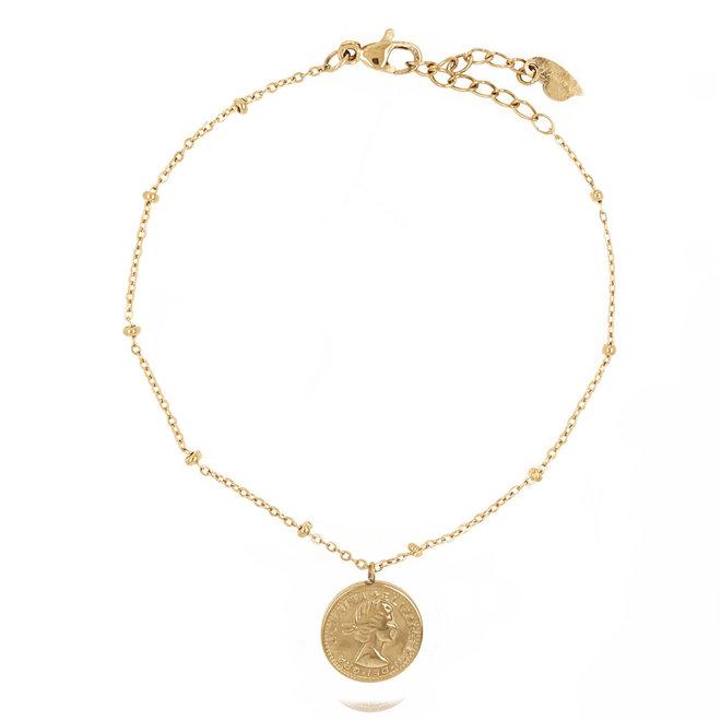 Double Coin Bracelet