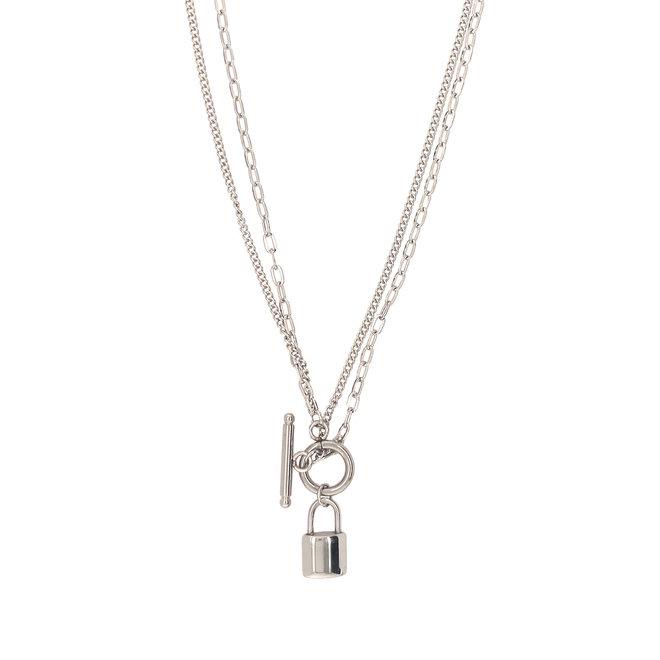 Lock Charm Necklace