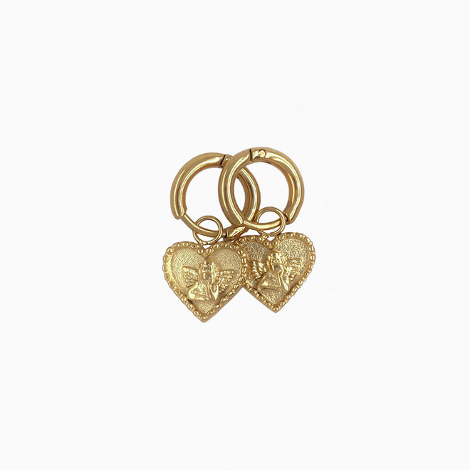 Your Angel Earrings Stainless Steel Goldplated
