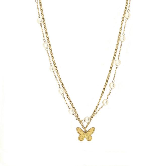 Sofia Charm Necklace
