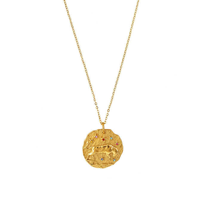 Beautiful Zodiac Collection Necklaces Taurus