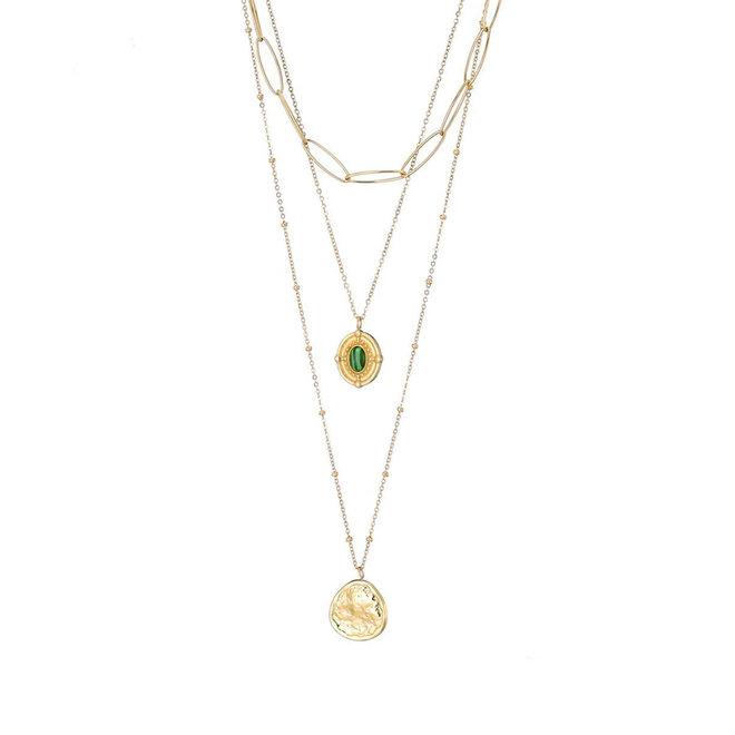 Daisy Leyered Necklace