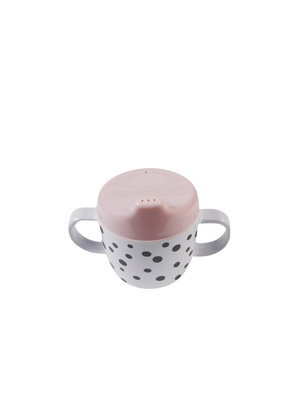 Done by Deer 2 handle spout cup, Happy dots, powder