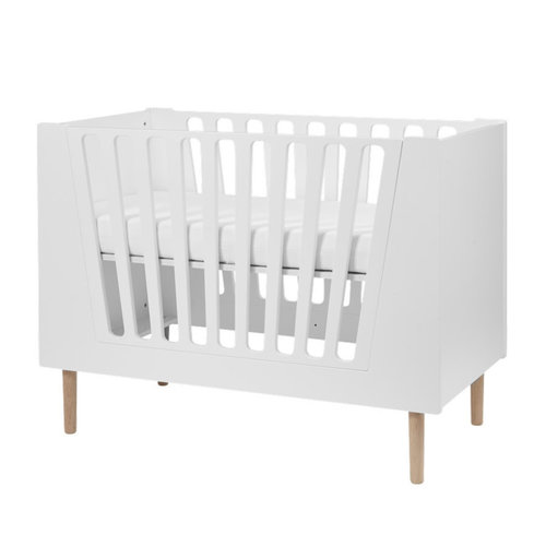 Done by Deer Baby cot, 60 x 120 cm, white
