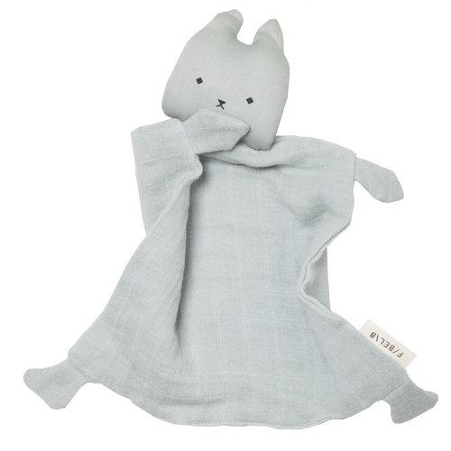 Fabelab Animal Cuddle Cat - Foggy Blue