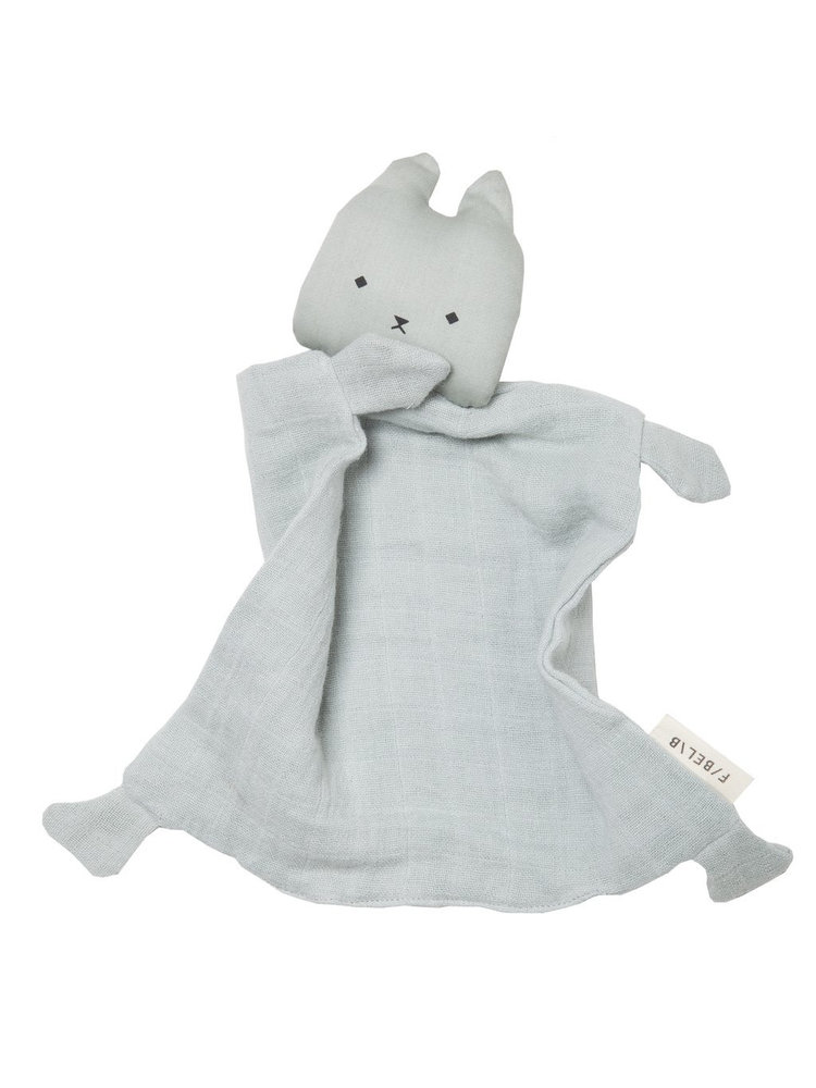 Fabelab Animal Cuddle Cat - Foggy Blue