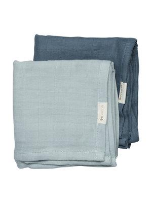 Fabelab Muslin Cloth - 2 pack - Sea