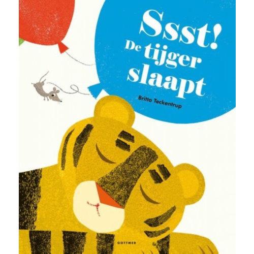 Gottmer Britta Teckentrup - Ssst! De tijger slaapt