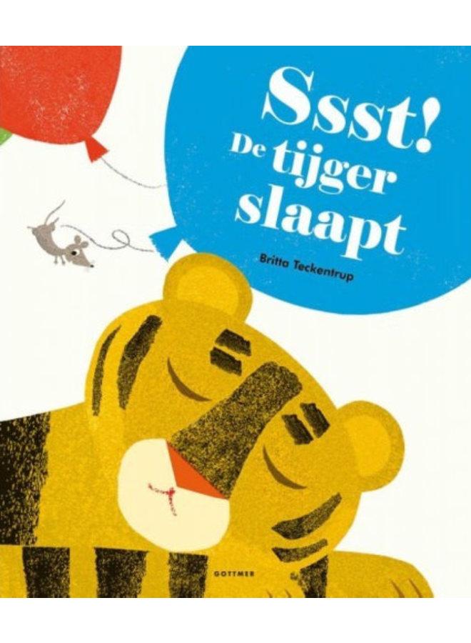 Britta Teckentrup - Ssst! De tijger slaapt