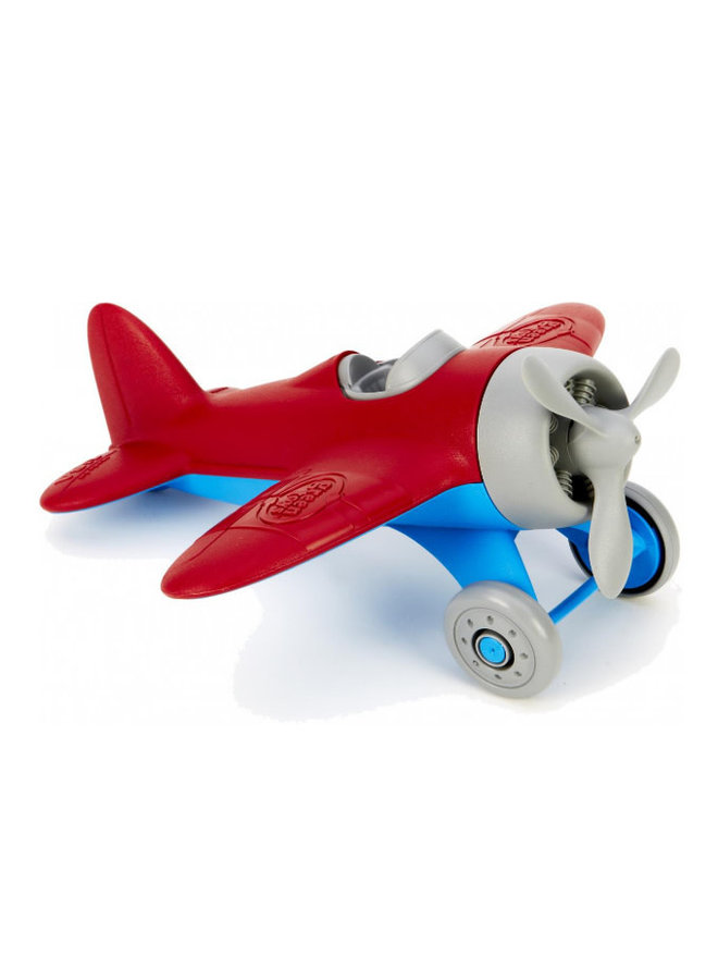 Green Toys - Airplane Red Wings