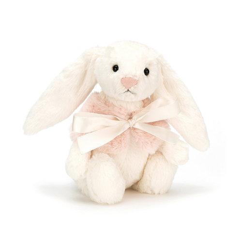 Jellycat Bashful Cream Snow Bunny Small