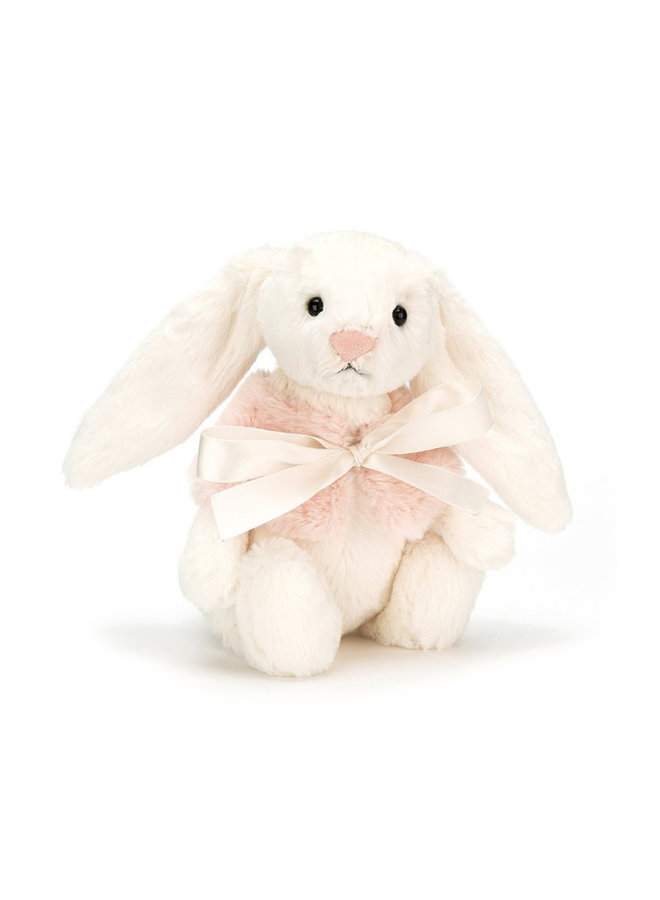 Jellycat - Bashful Cream Snow Bunny Small
