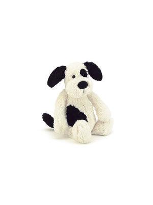 Jellycat Bashfull Black&Cream Puppy Small