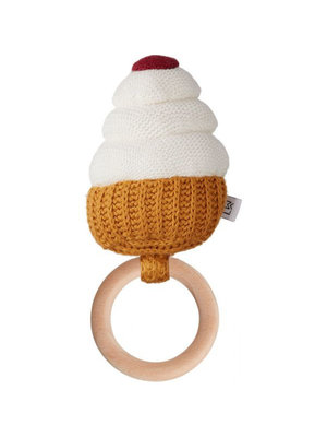 Liewood Aria rattle - Cupcake creme de la creme