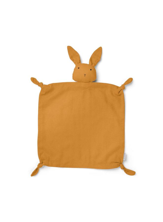 Liewood - Agnete / Cuddle Cloth - Rabbit mustard
