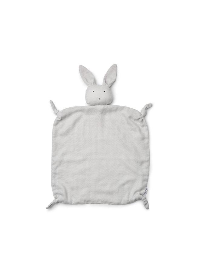 Liewood - Agnete / Cuddle Cloth - Rabbit dumbo grey