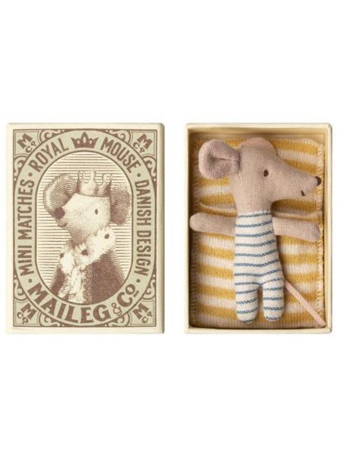 Baby mouse, Sleepy/wakey in box - Boy