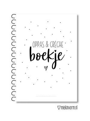 Miekinvorm Oppas & Crèche boek A5