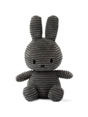 Nijntje / Miffy Corduroy Dark Grey - 24 cm